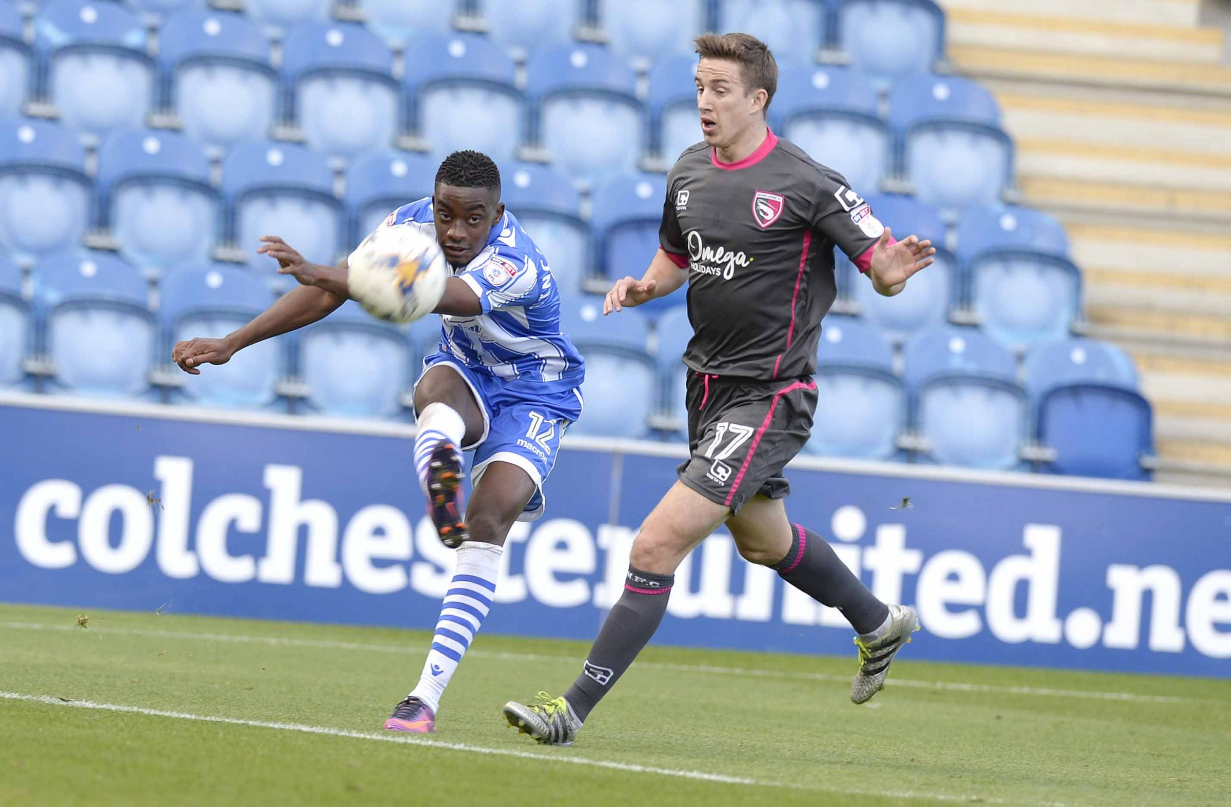 Commitment - Kane Vincent-Young has signed a new 12-month deal with Colchester United