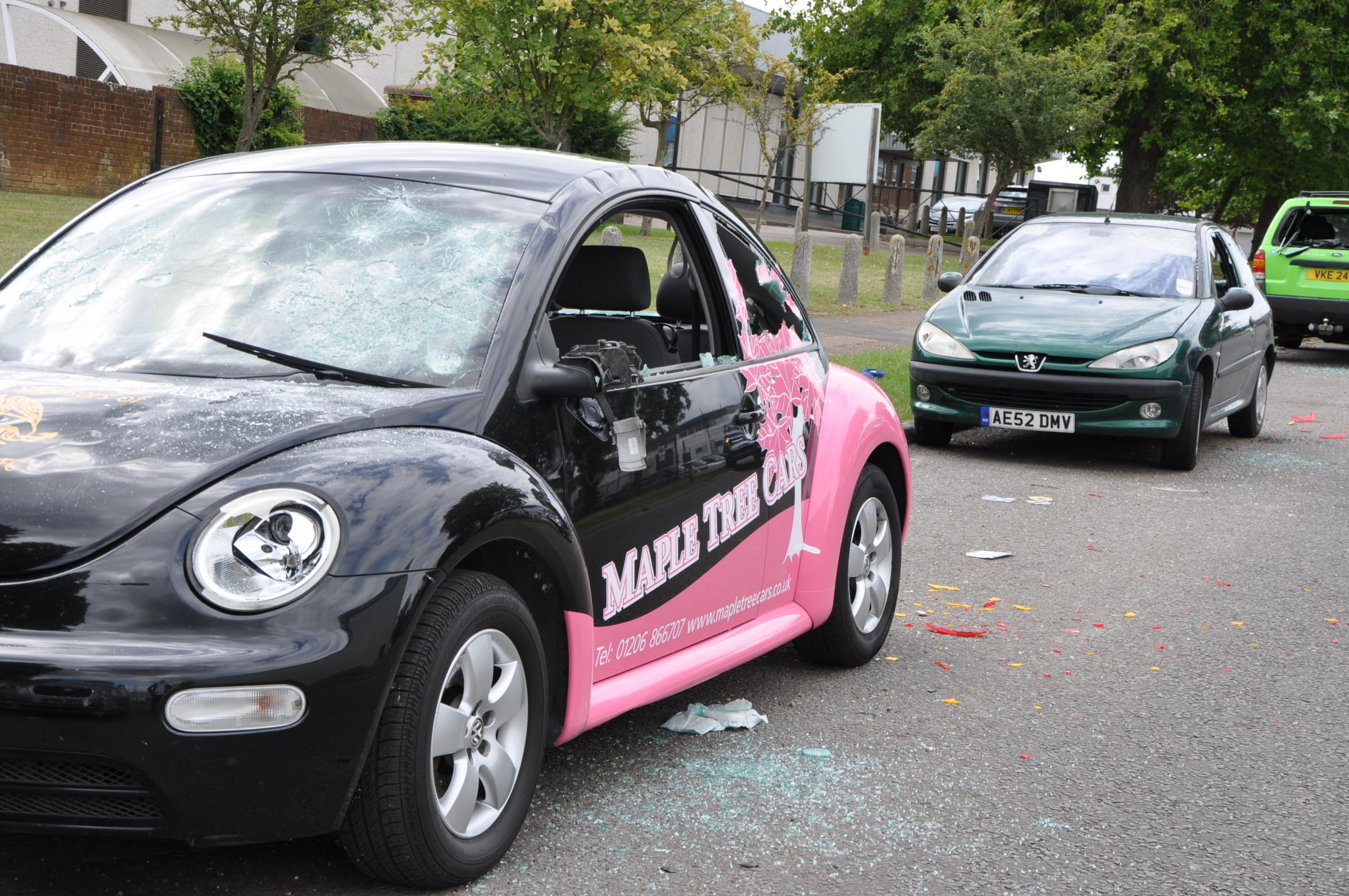 Vandals damage significant number of cars on Whitehall Industrial ...