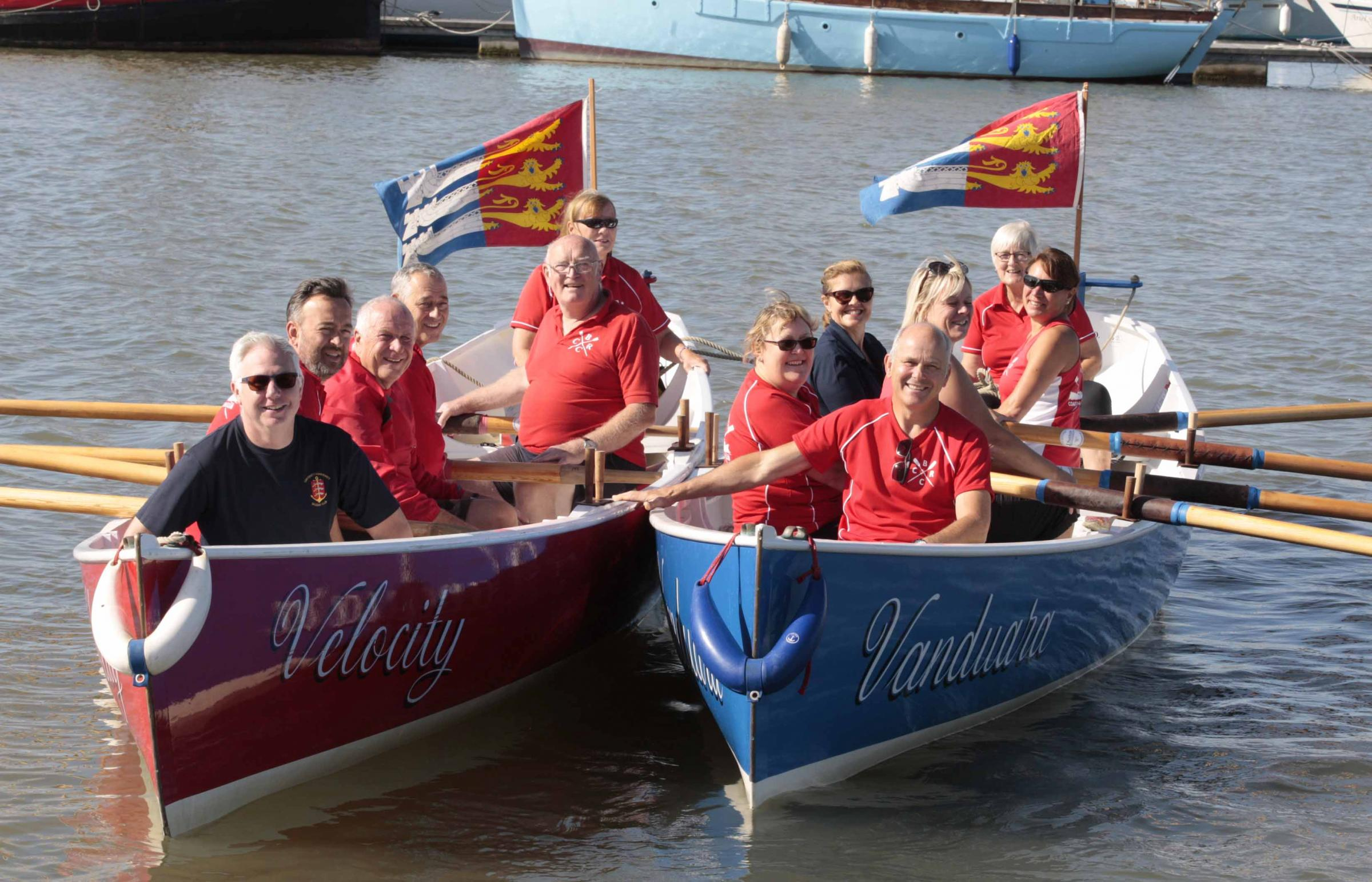 Rowers prepare for fundraising river race