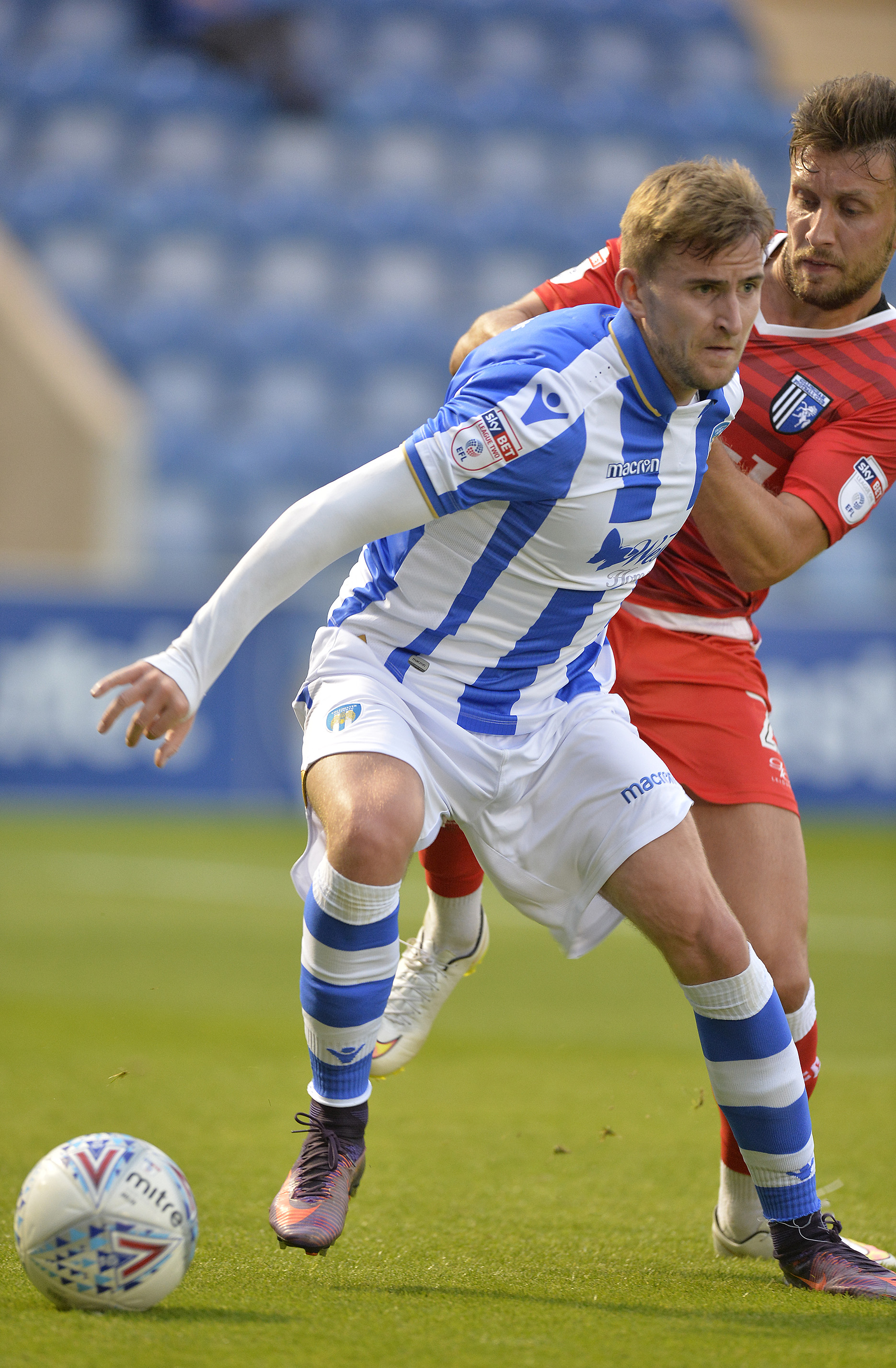 Loan move - Colchester United midfielder Craig Slater has joined Dundee United on loan Picture: STEVE BRADING
