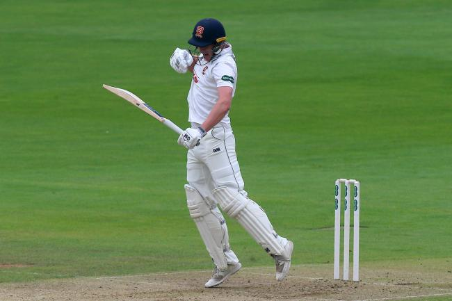 Only Tom Westley showed any resistance, overcoming a tentative start to grow in confidence before he was out for 49 from 113 balls. Picture: TGS Photos