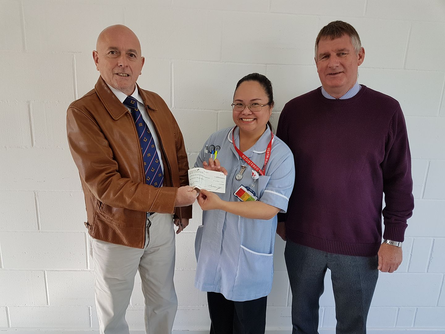 £1,000 donation to Cancer  Centre Campaign appeal