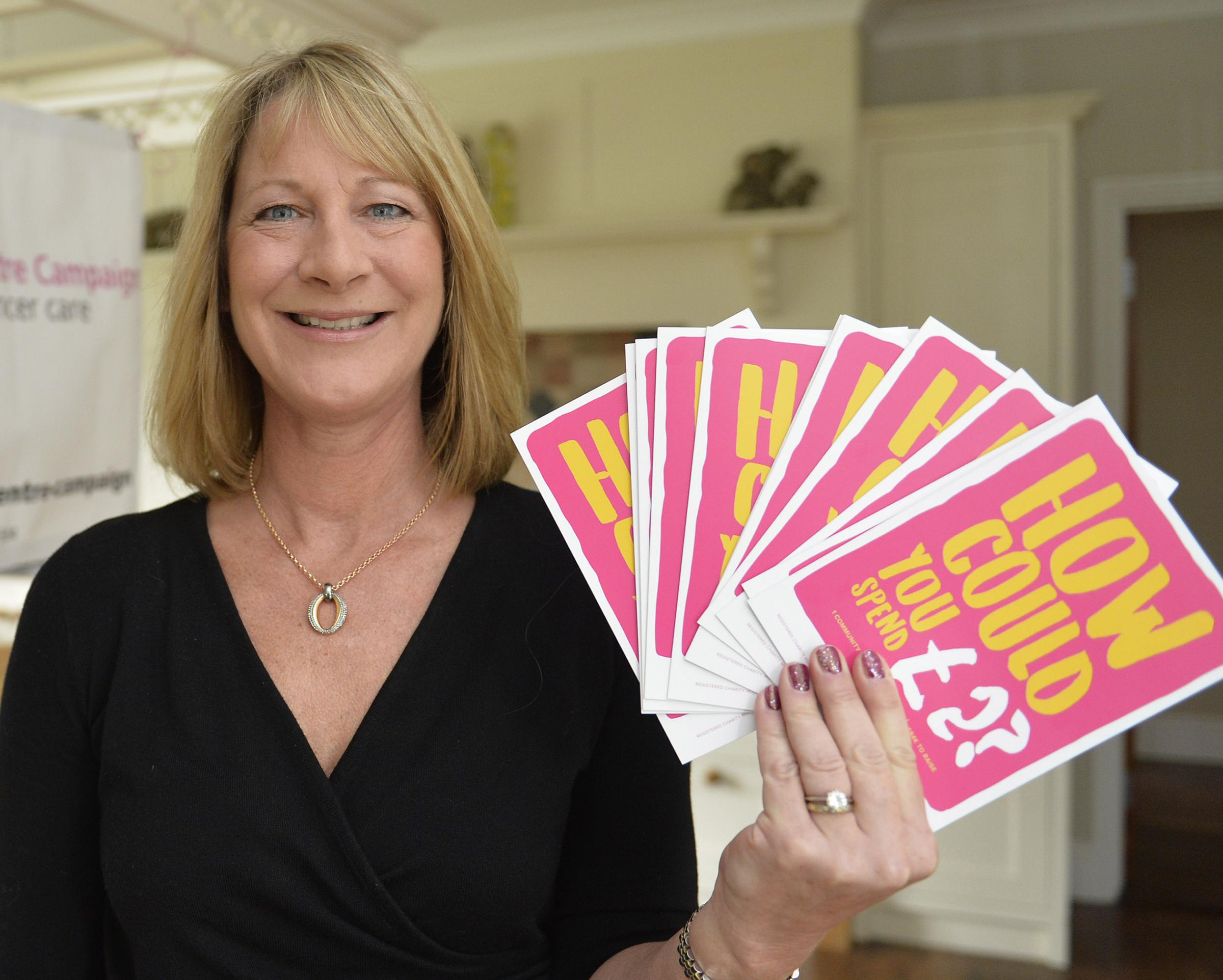 Supporter - Jacqui Cook who is raising awareness of the appeal