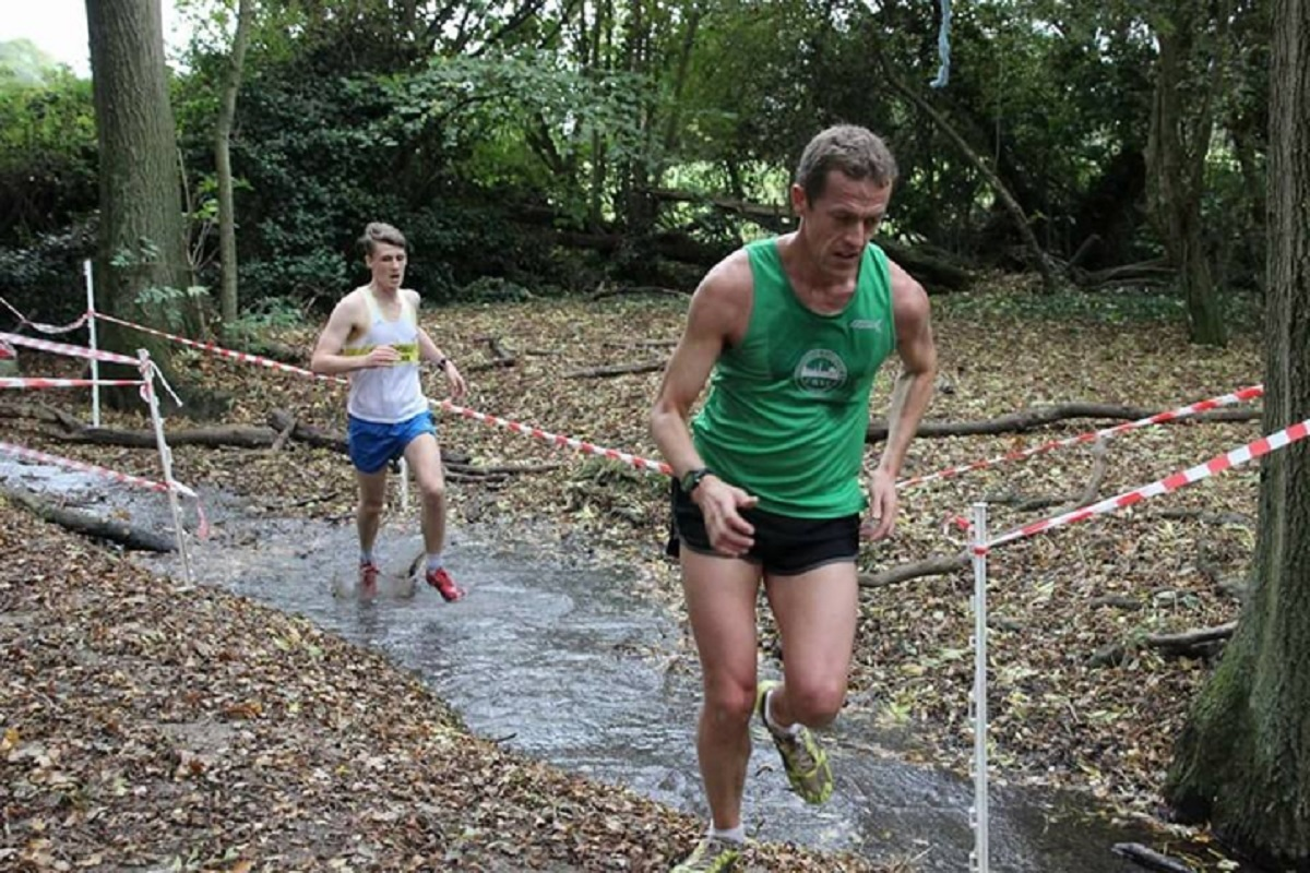 Welcome return - Daniel King returned to cross-country action and finished seventh at the 53-12 event at Writtle College