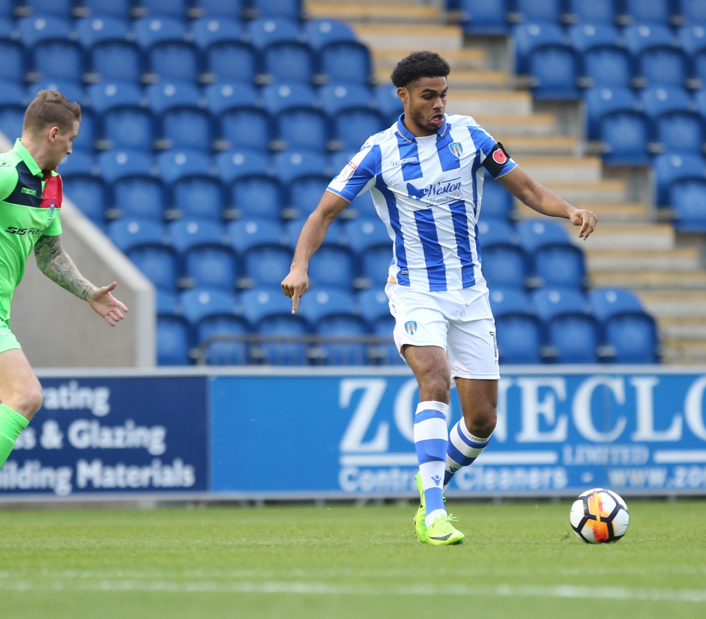 Colchester United striker Mikael Mandron feels like he is finding best form | Gazette