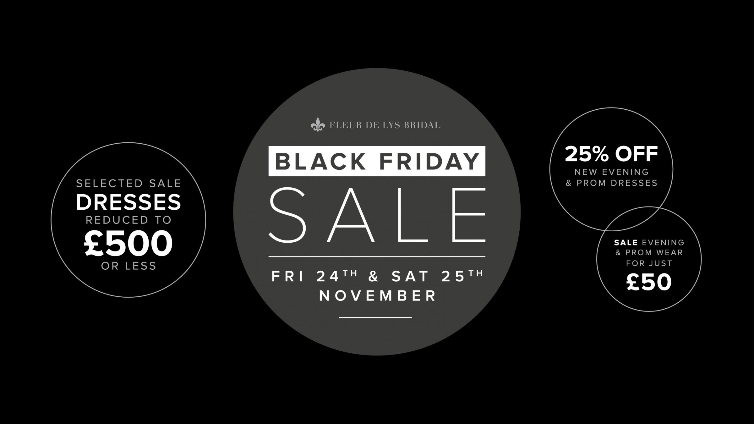 Unmissable bridal, evening gown and prom dress savings this Black Friday!