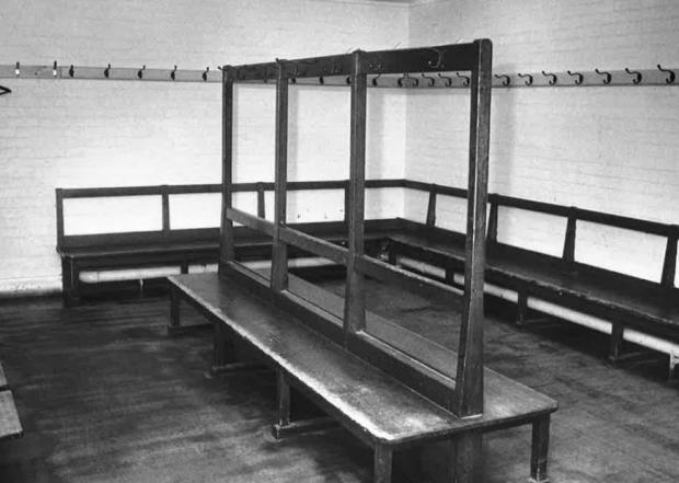 Gazette: Action - the changing rooms shown in this short from our archives.