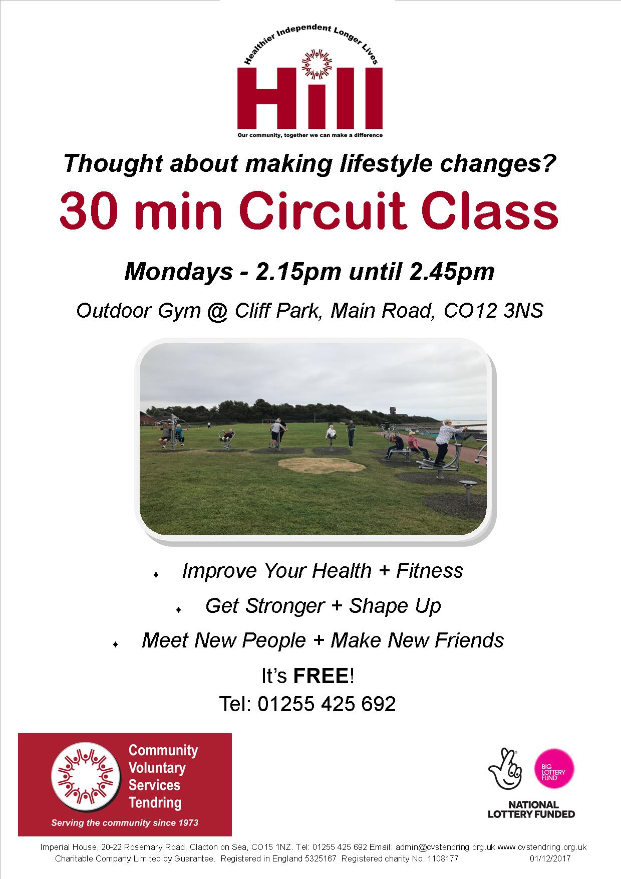 Harwich circuit training session