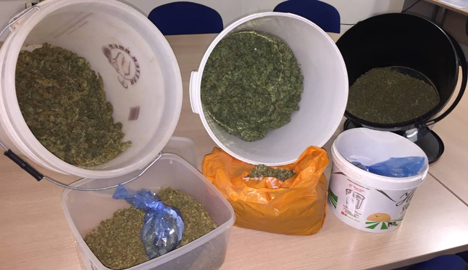Haul - the drugs were seized from Jonathan Ayres