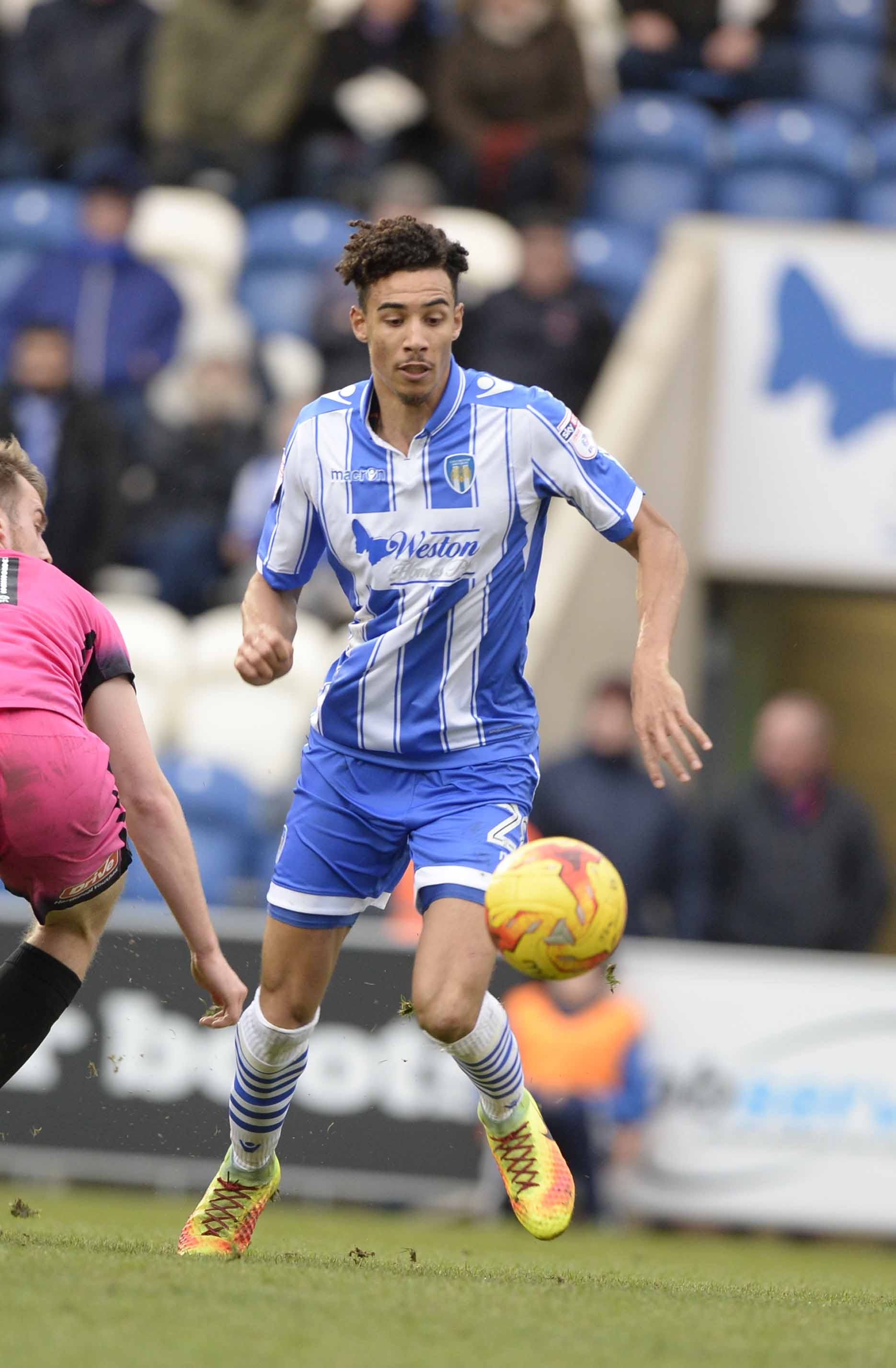 Back in the fold - Kurtis Guthrie has been training with Colchester United's first-team squad ahead of their home game with Exeter City
