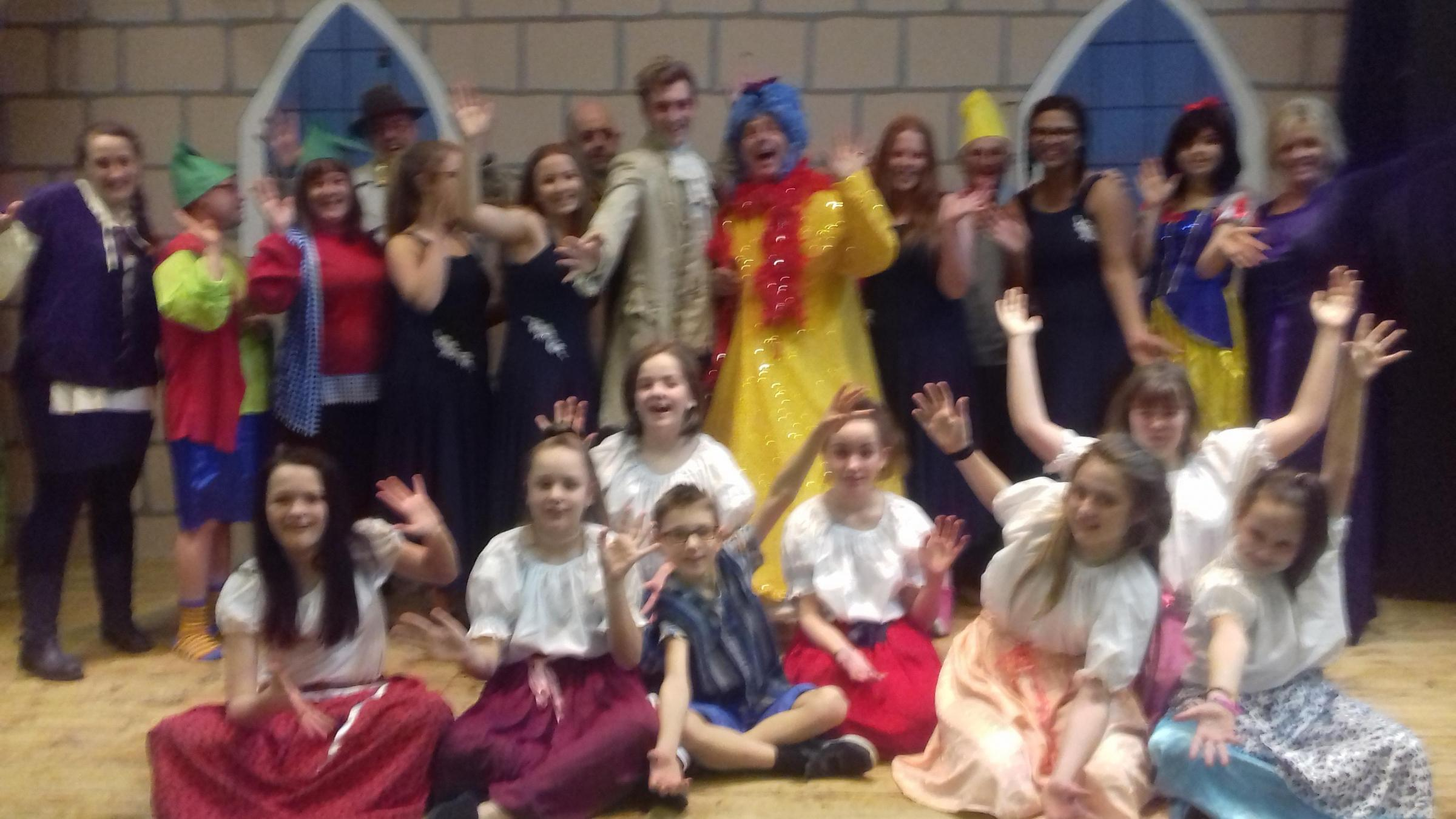Snow White and the Several Dwarfs