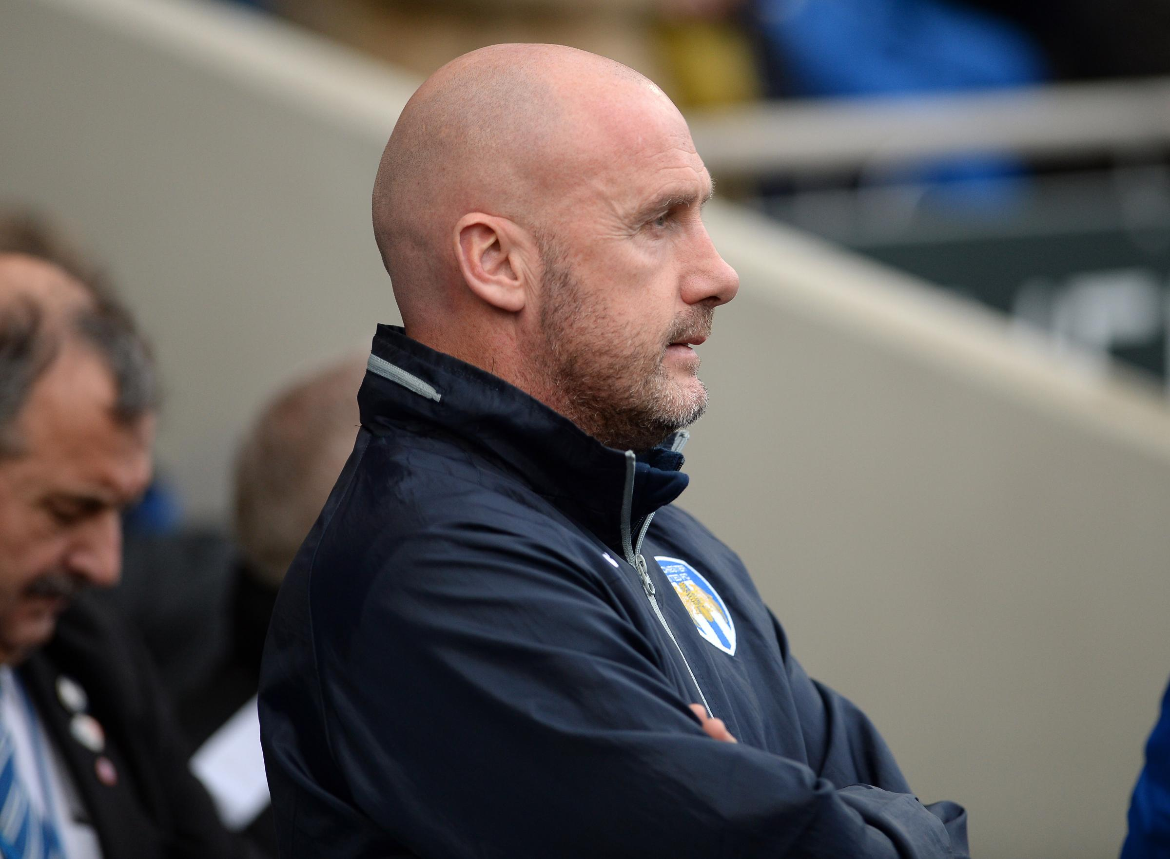 Decision time - Colchester United head coach John McGreal could make changes to his side for the visit of Cambridge United Picture: PAGEPIX