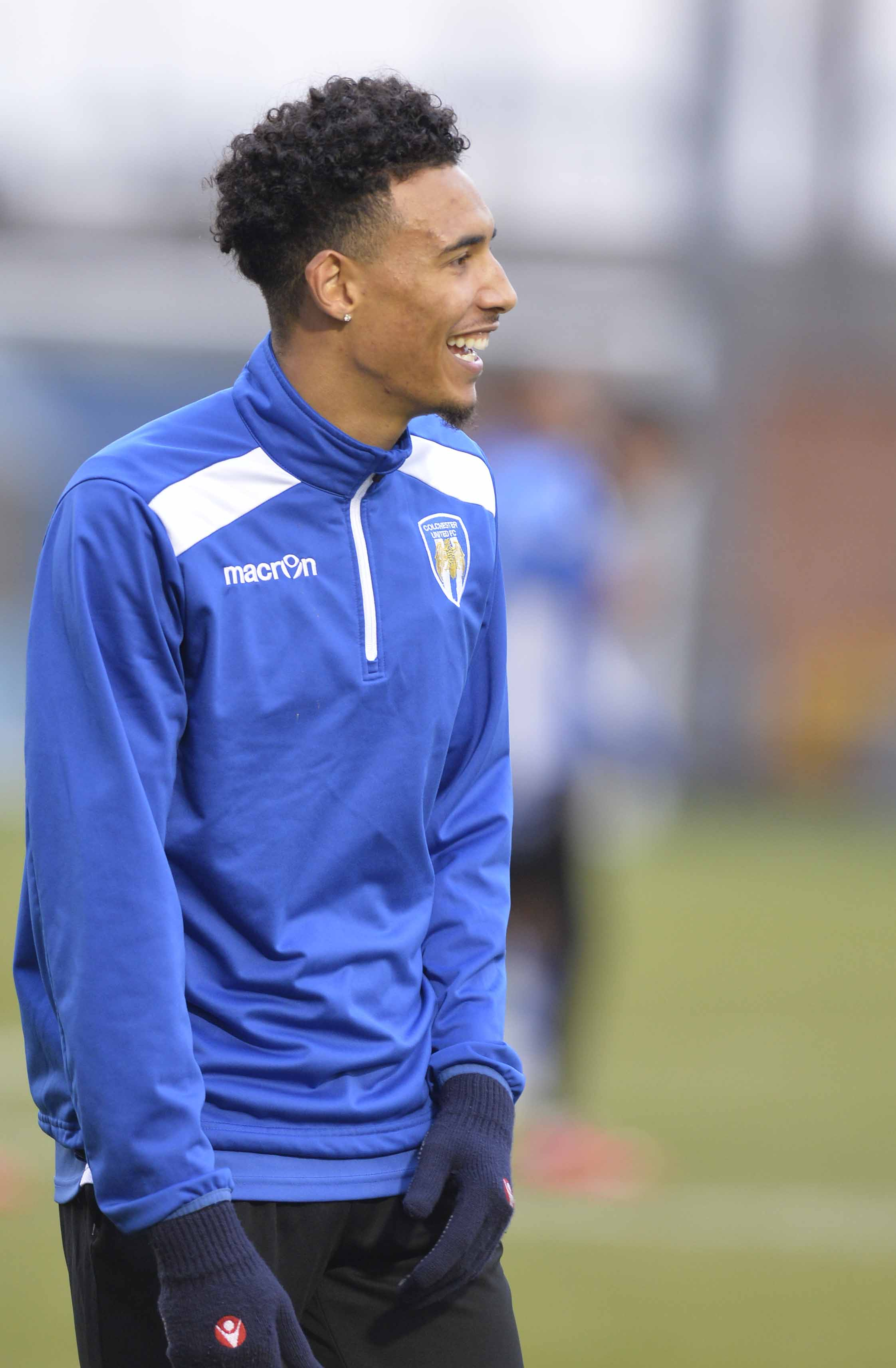 Progress - Kurtis Guthrie has appeared in Colchester United's last three matches in League Two Picture: STEVE BRADING