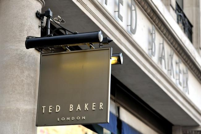 97bc523fe ... Ray Kelvin takes leave of absence amid harassment claims. By Press  Association 2019. A Ted Baker shop sign