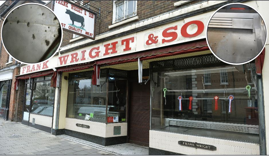 In need of a clean - Frank Wright and Son butchers