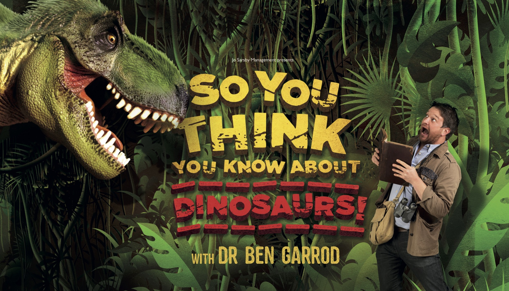 Ben Garrod's So You Think You Know Dinosaurs