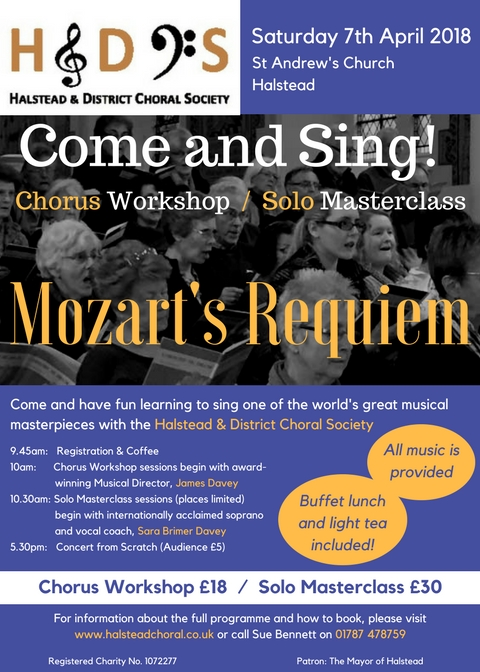 Come and Sind Mozart's Requiem