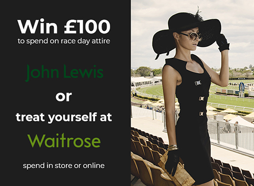Win £100 to spend on a race day outfit this March!