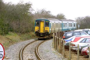 Rail services delayed because of fallen tree
