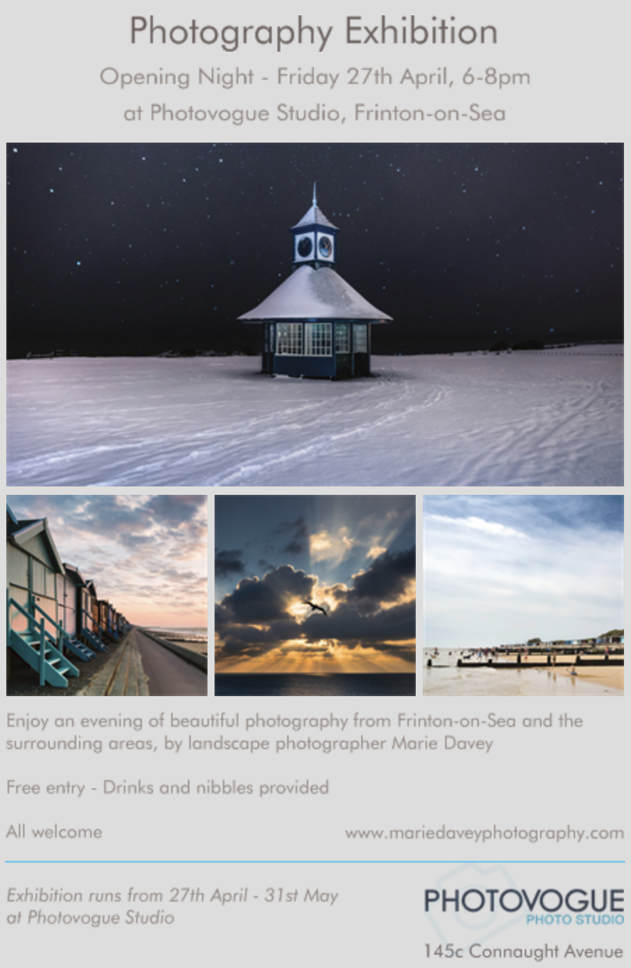 The Beauty of Frinton-on-Sea Photography Exhibition