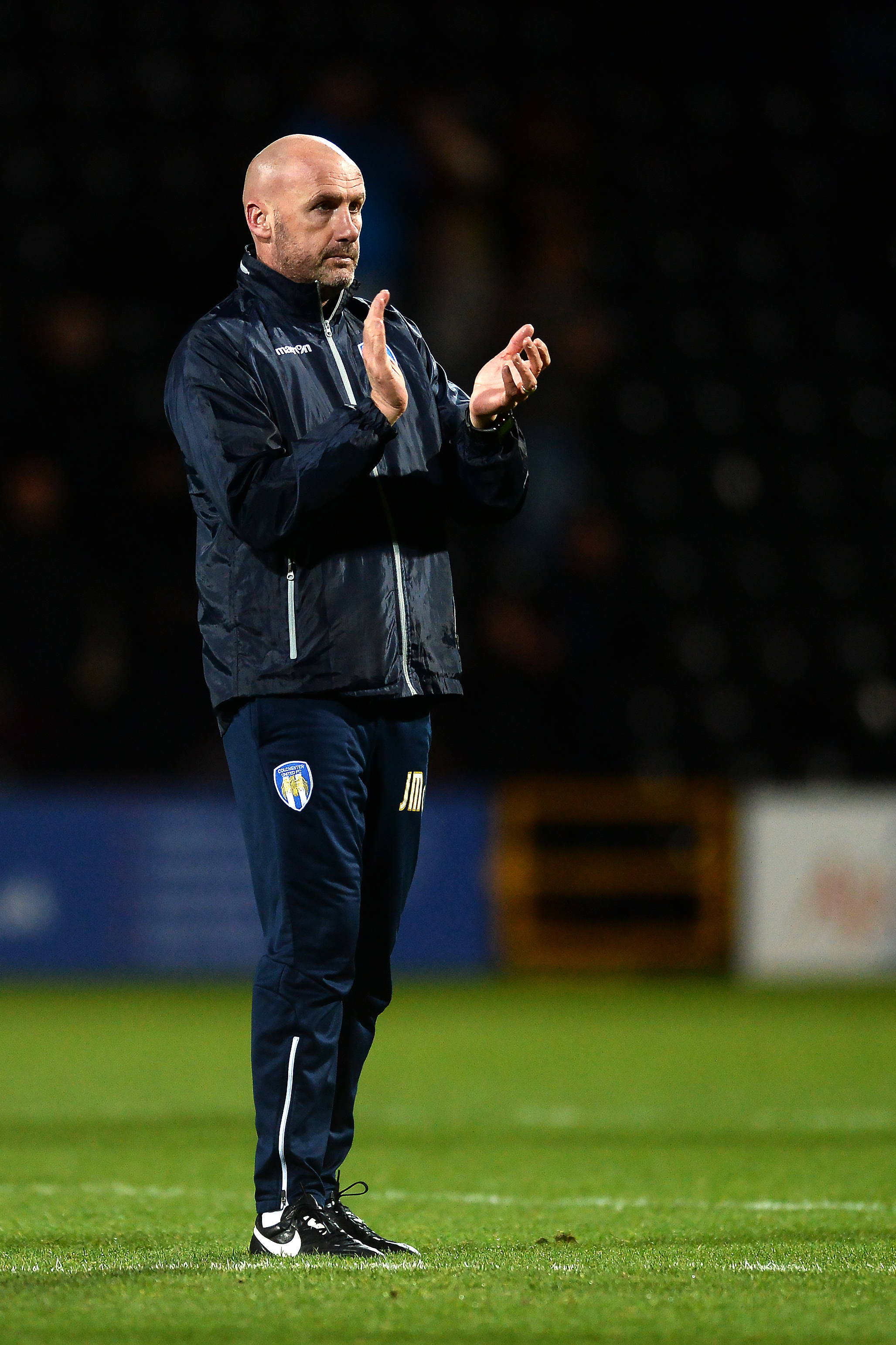 Outstanding - John McGreal led Colchester United to four wins in League Two last month Picture: RICHARD BLAXALL