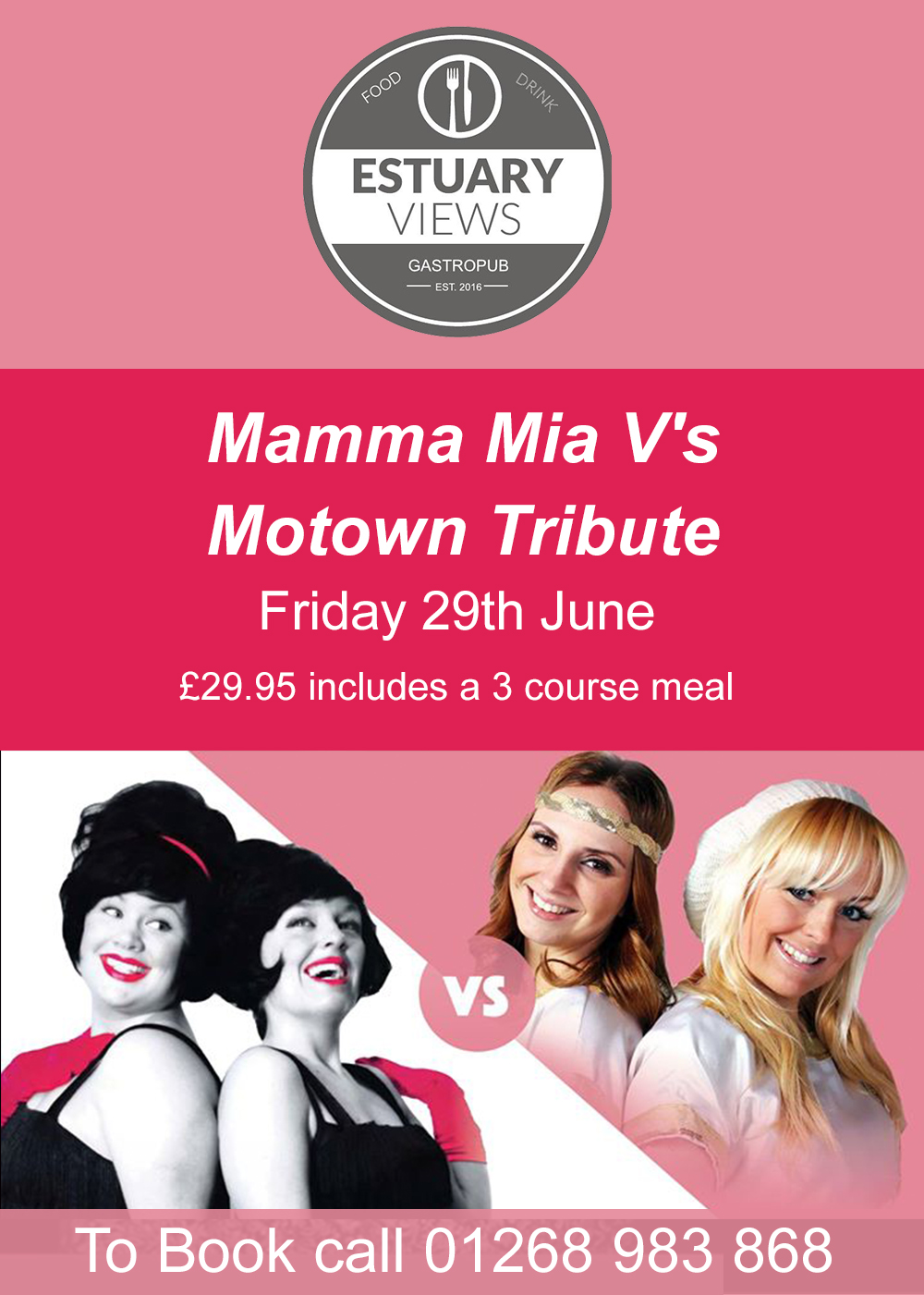 Mamma Mia V's Motown Tribute Night