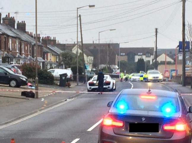 Scene - the incident happened in South Street, Braintree