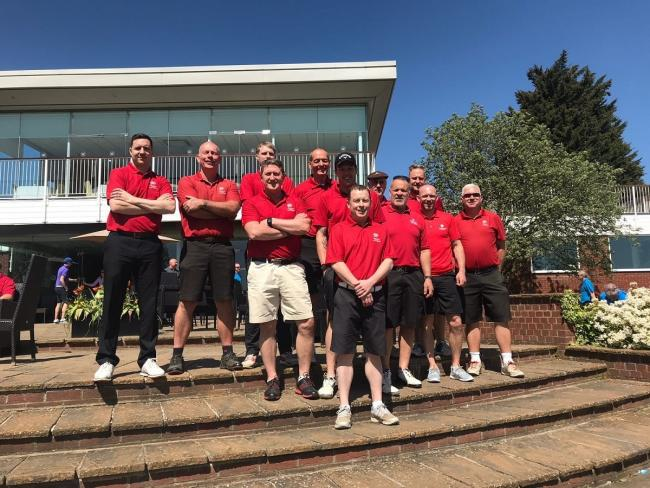 All together now - Stoke by Nayland Golf Club's Jubilee Cup squad