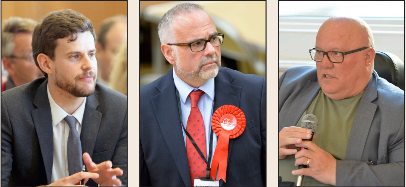Leaders - Mark Cory, Tim Young and Gerard Oxford