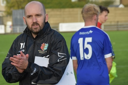 New signing - Brightlingsea Regent boss Tom Rothery Picture: David Scales
