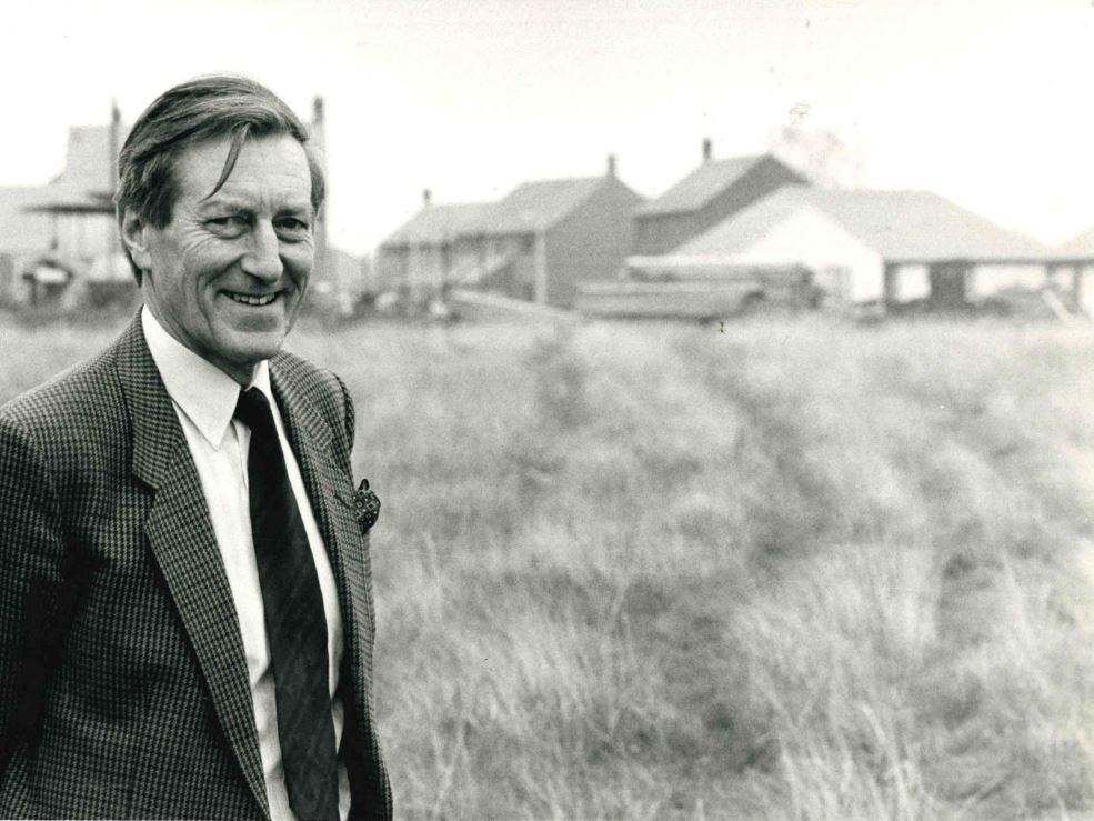Roger Browning, taken from the Gazette's archive, pictured in 1985 while he was chairman of the planning committee