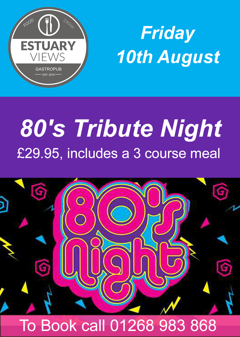 80's Tribute Night