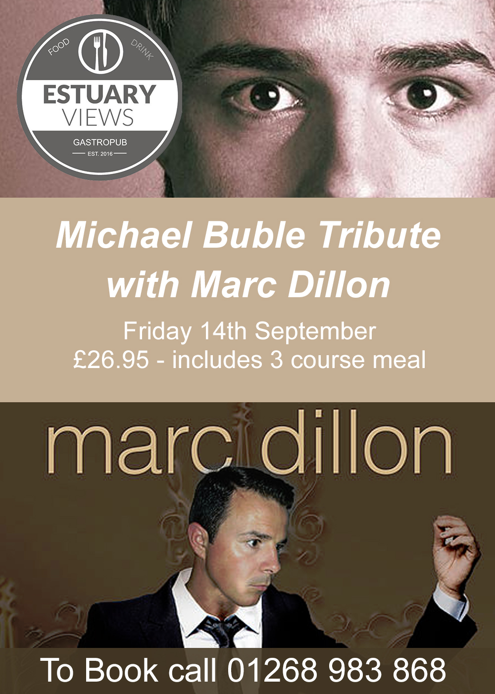 Michael Buble Tribute with Marc Dillon
