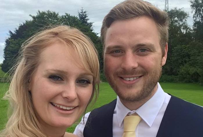 Couple - Susie Bailey and Callum McGrath will be celebrating their own special day