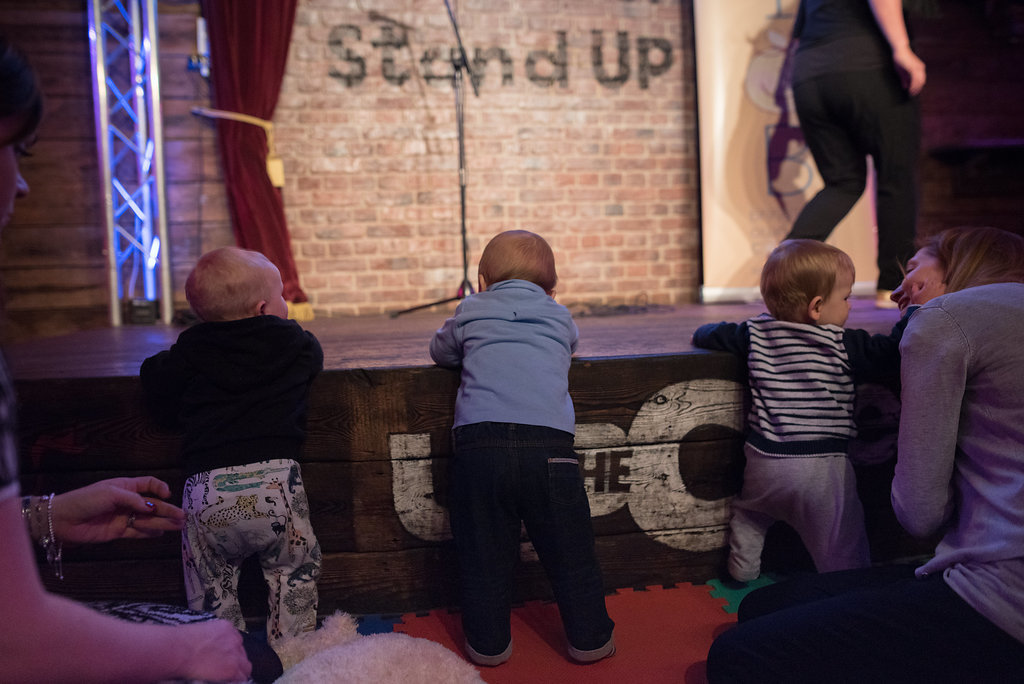 Bring Your Own Baby comedy club
