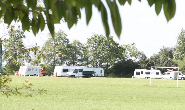 Proceedings underway to move travellers from field