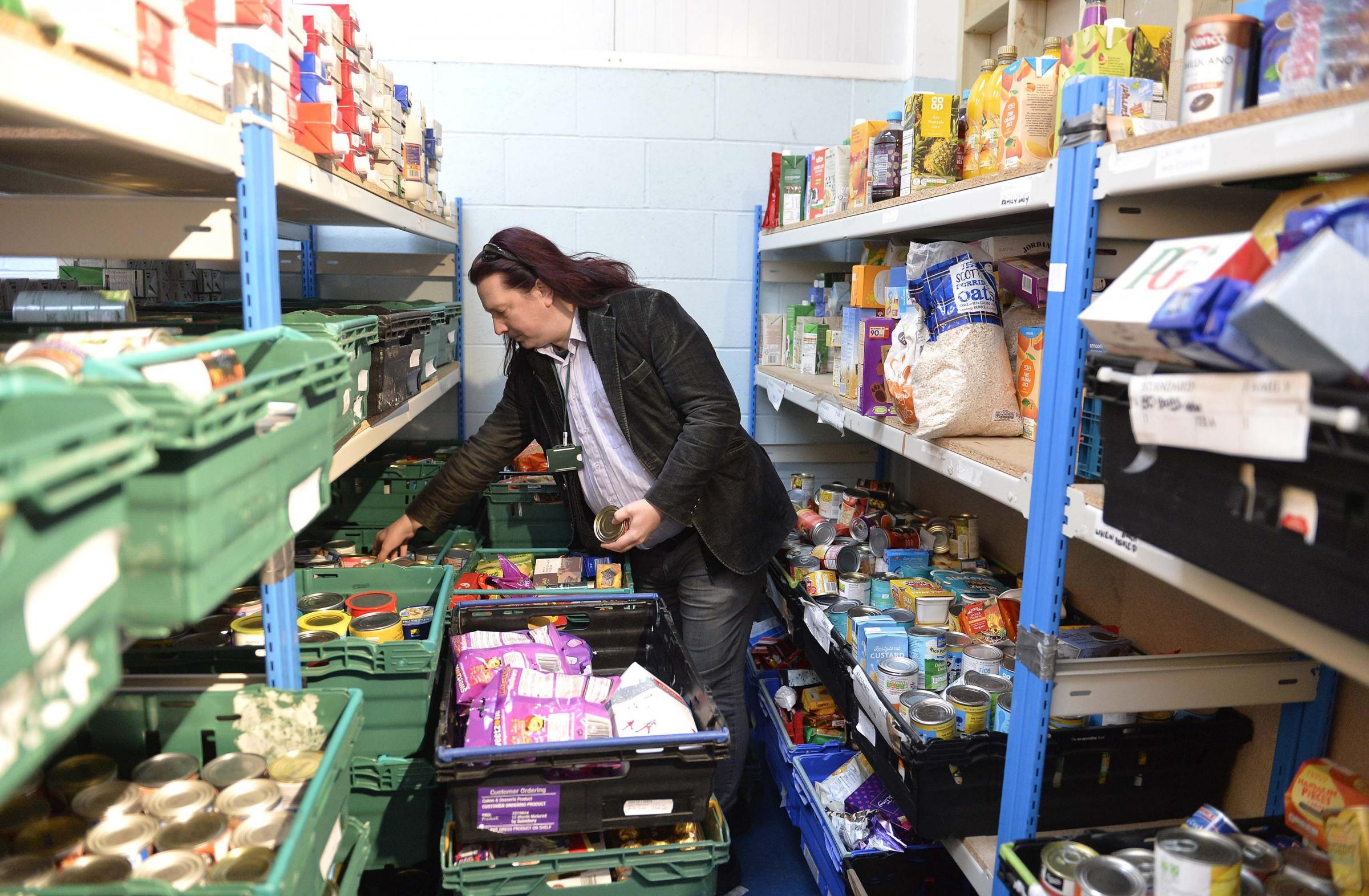 Unpredictable - Colchester Foodbank manager Michael Beckett says poverty can affect anyone