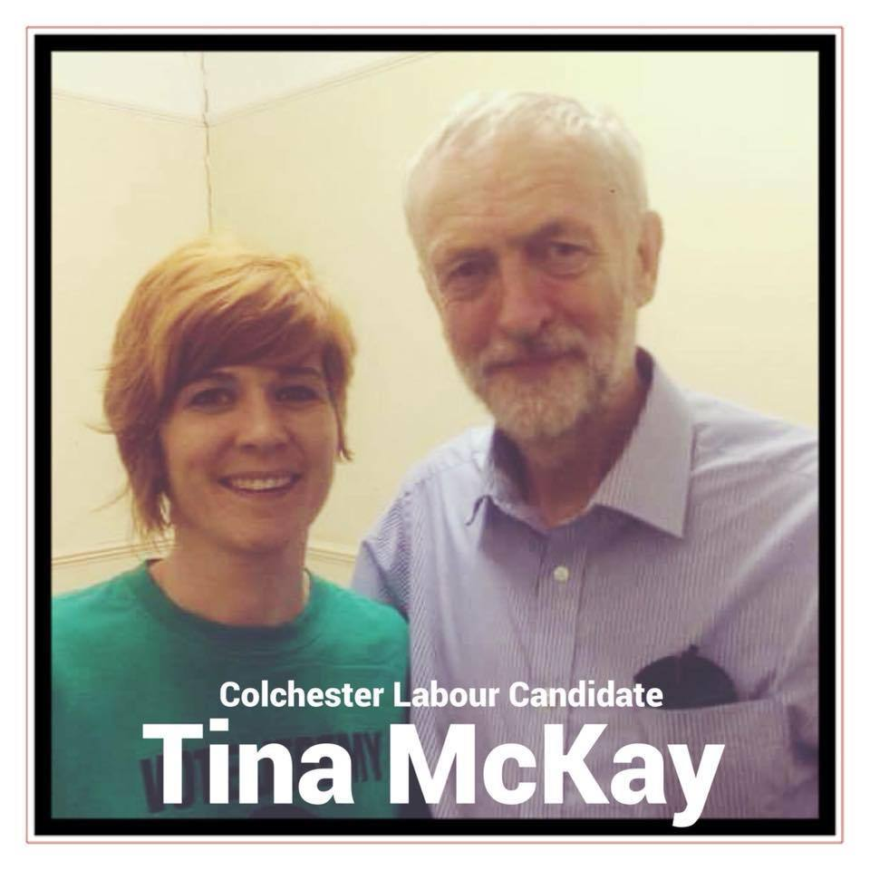 Elected - Tina McKay joined the Labour Party after Jeremy Corbyn was appointed as leader in 2015