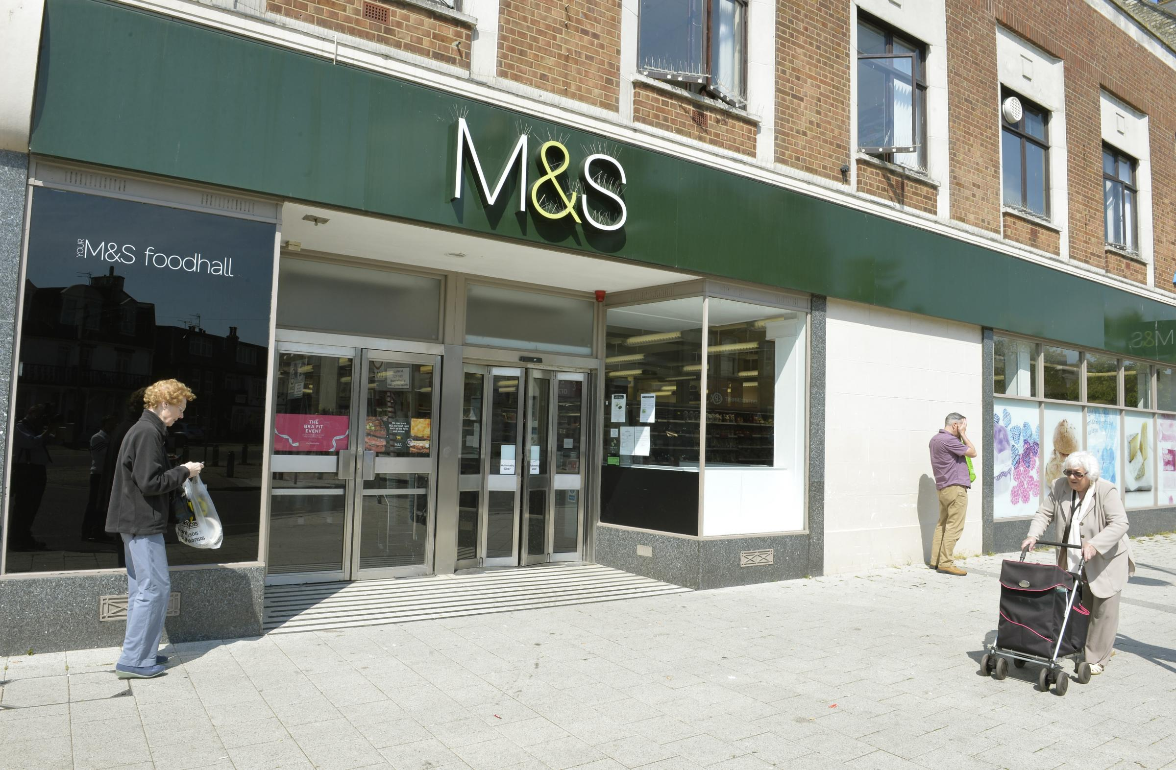 Marks and Spencer will close its Clacton store early next year. Picture: Steve Brading
