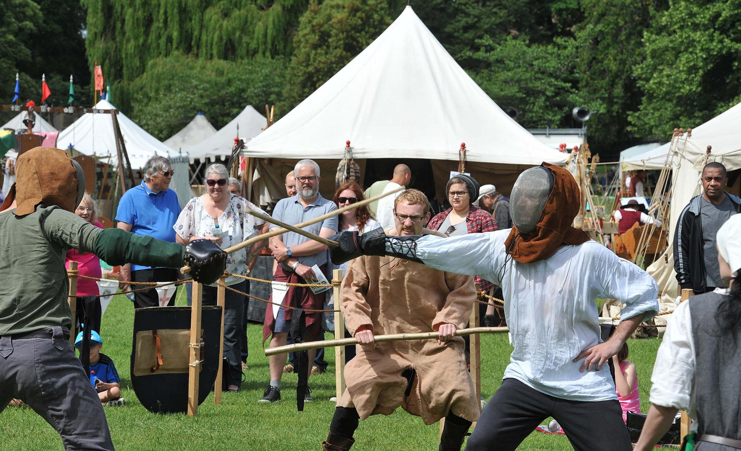On guard - Colchester's Medieval Festival