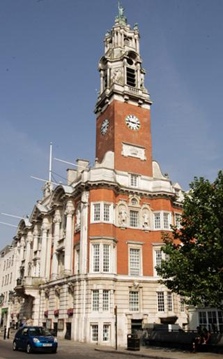 Gazette: Colchester Town Hall - difficult decisions for those in charge. Picture: STEVE BRADING (50810-d)
