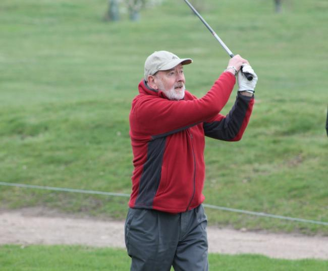 Impressive - Robert Few was in fine form to win Playgolf Colchester Seniors' annual Veteran's Trophy
