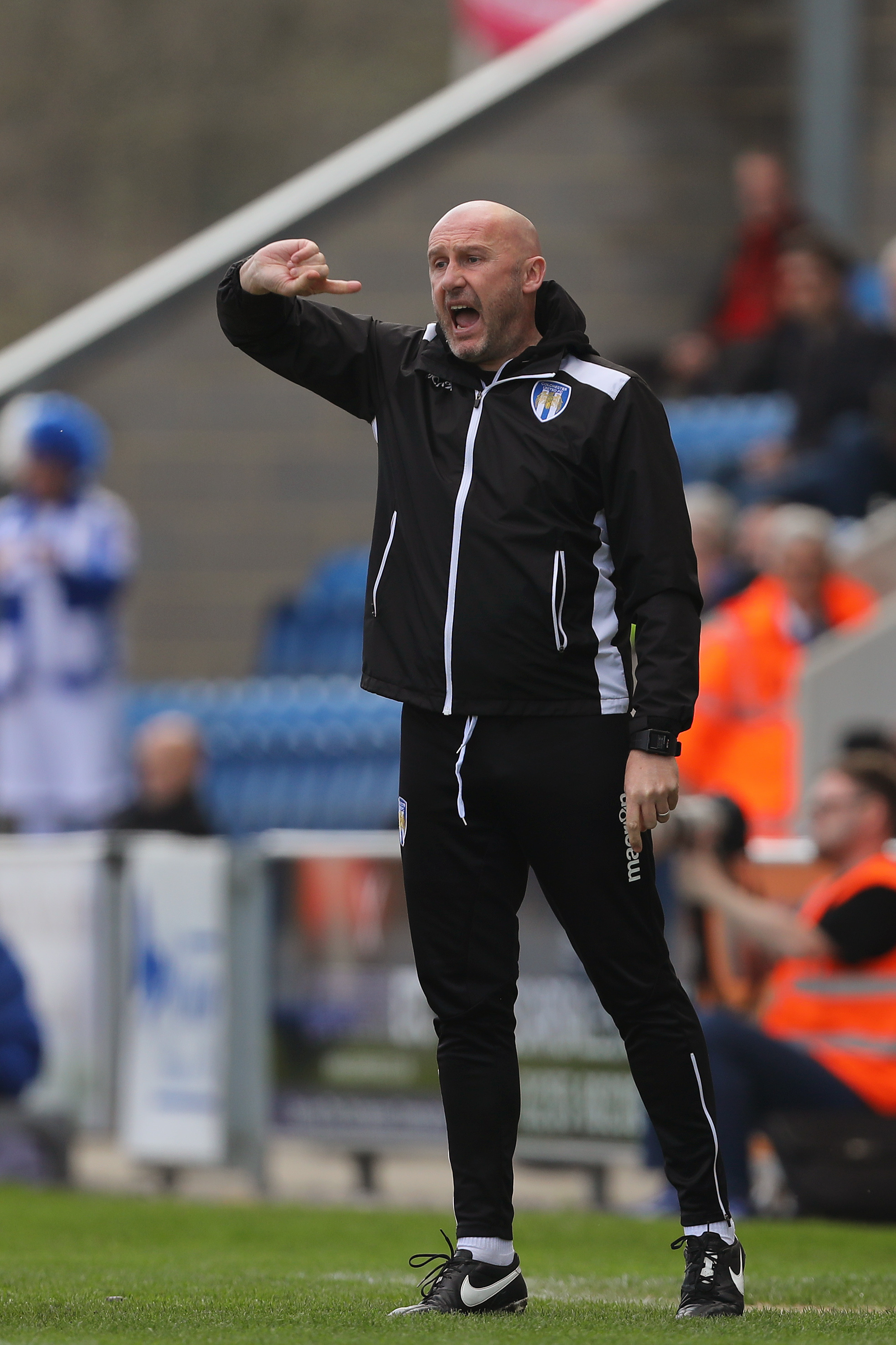 Raring to go - Colchester United head coach John McGreal is already looking forward to his side's start to the season Picture: RICHARD CALVER