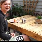 Gazette: Maisie Dyvig in The Wholefood Store Cafe in Manningtree