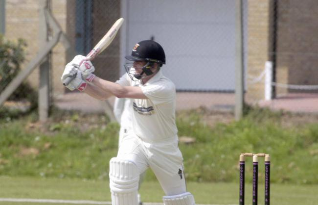 Prolific - Julian Russell hit 73 for Colchester and East Essex in their draw at Woodford Wells Picture: STEVE BRADING
