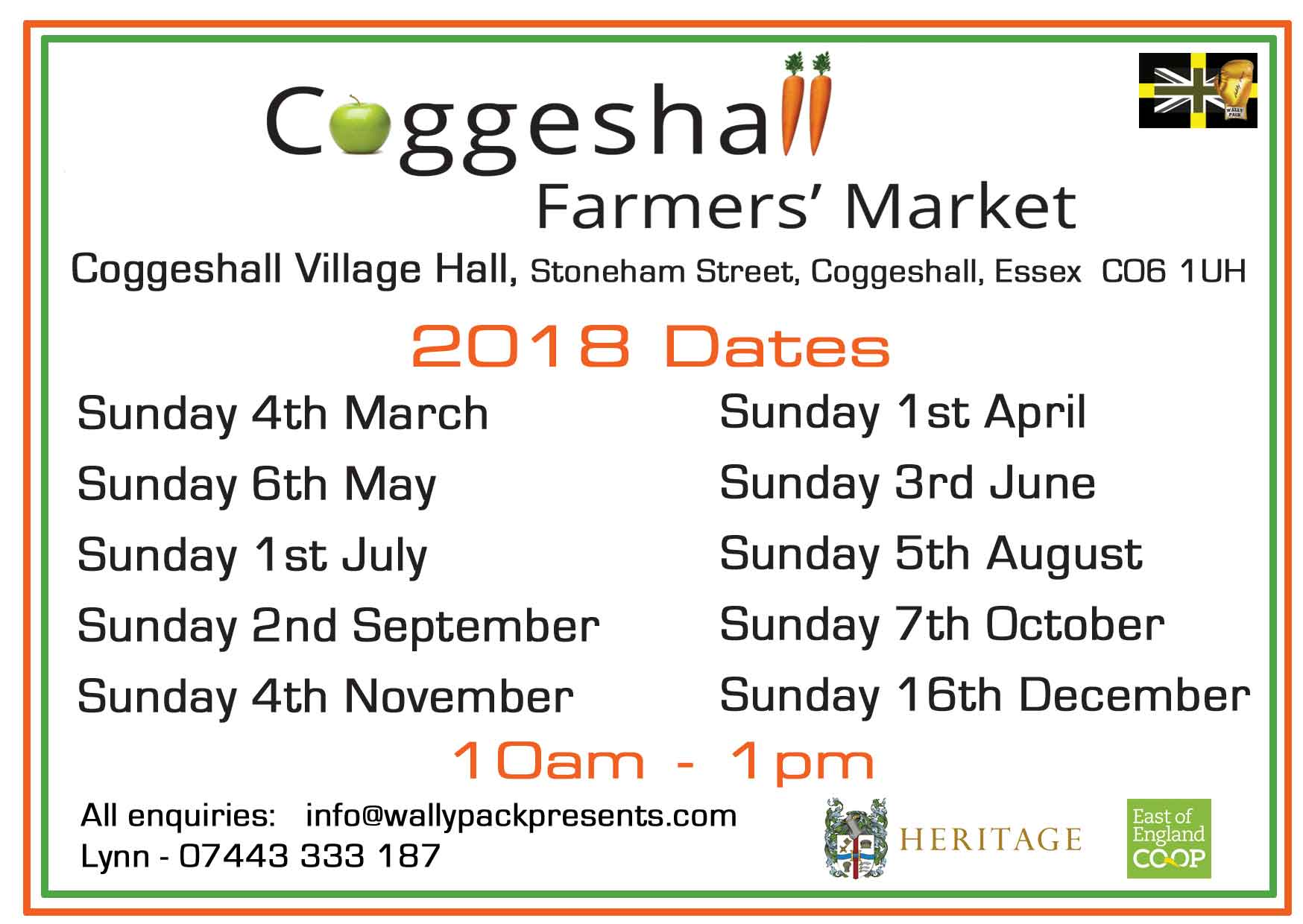 Coggeshall Farmers Market