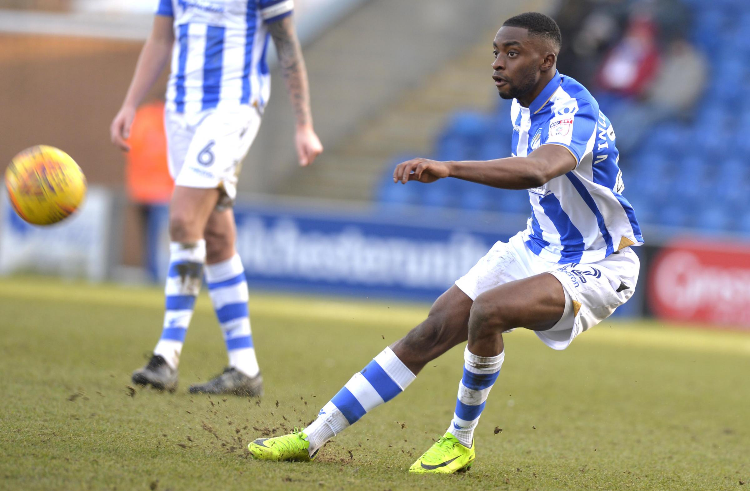 Link up - Kane Vincent-Young will travel to Cheshire with the rest of the Colchester United squad for their pre-season camp in Cheshire Picture: STEVE BRADING