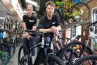 Gang of thieves ride out on £3,500 bicycle