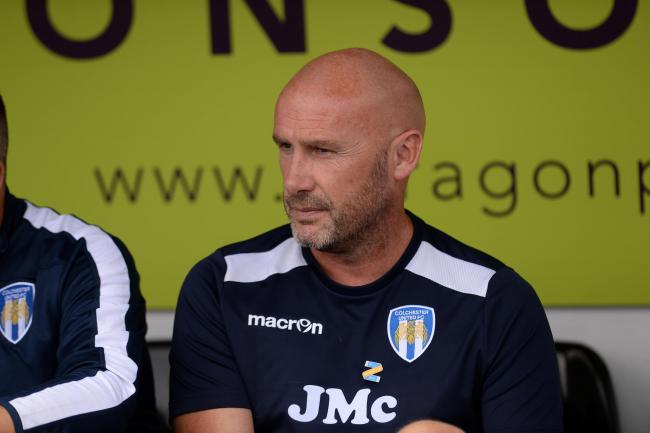 Content - Colchester United boss John McGreal says he is pleased with his squad Picture: PAGEPIX
