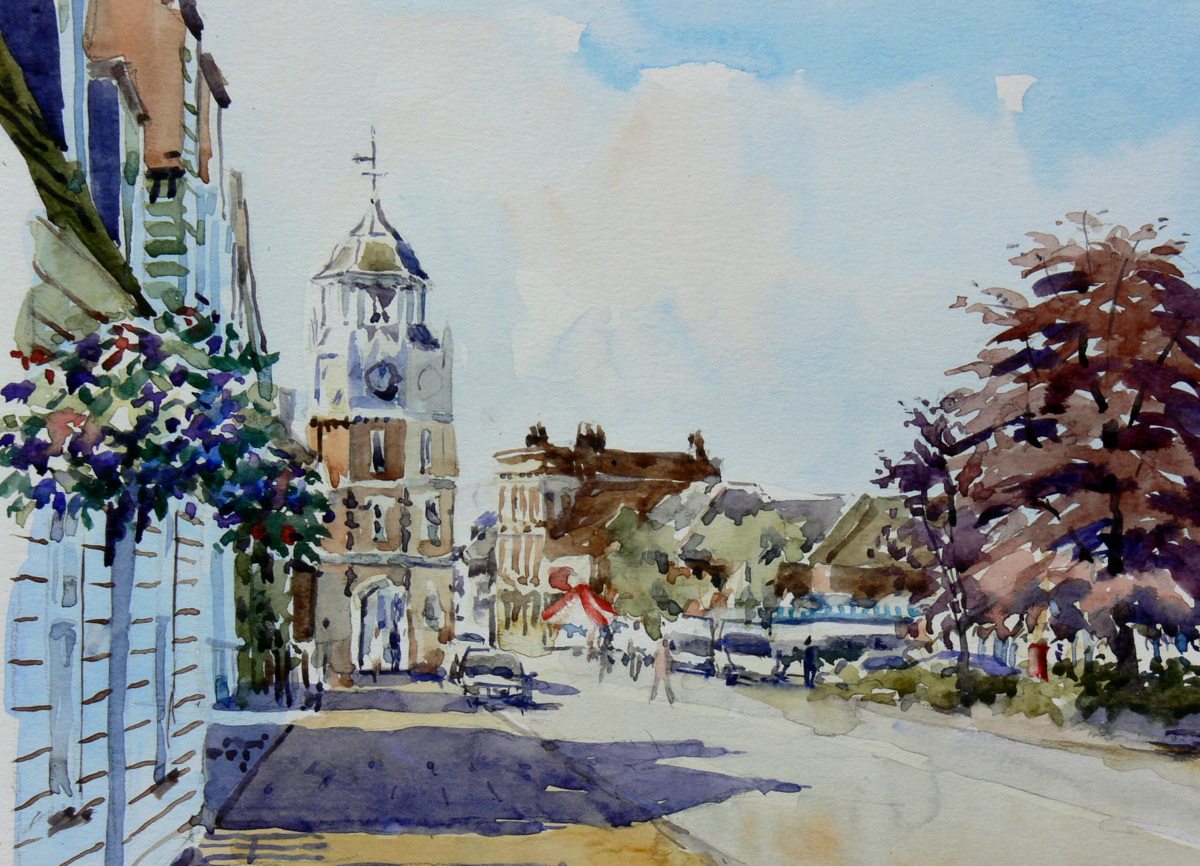 Burnham Art Club Exhibition of paintings